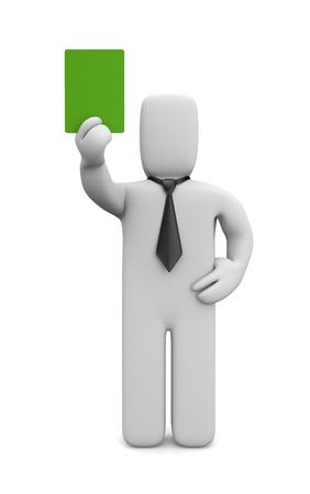 accommodate: Green card