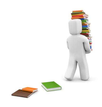 publishes: Education metaphor