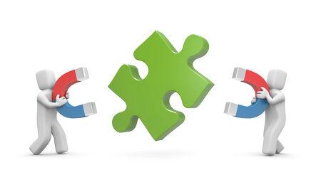 polarize: Business concept