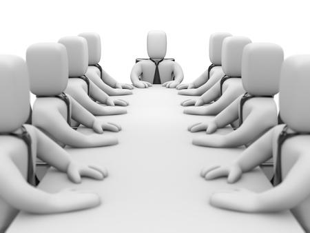 Boardroom meeting: Meeting