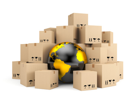 Transportation and shipping  Global delivery photo