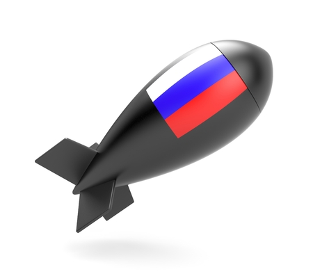bombshell: Bomb with Russian flag
