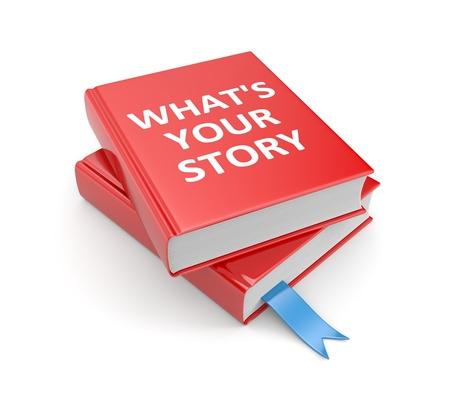 Quel est votre histoire Banque d'images