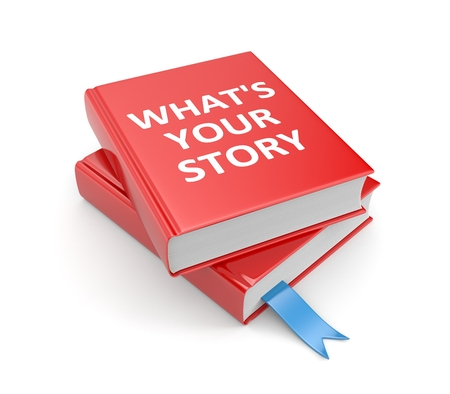 What s your story Stockfoto
