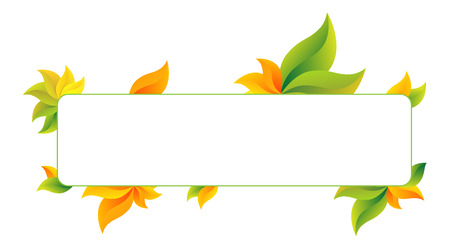 bill board: Symbolizes end of summer and beginning of autumn Illustration