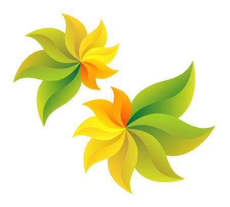 sorrel: Symbolizes end of summer and beginning of autumn Illustration