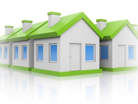 ortseingangsschild: Häuser