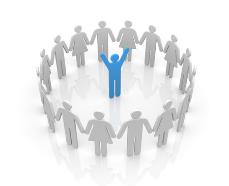 Leadership concept photo