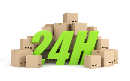 twenty four hours: Transportation and shipping