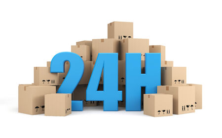 24 hour: Transportation and shipping