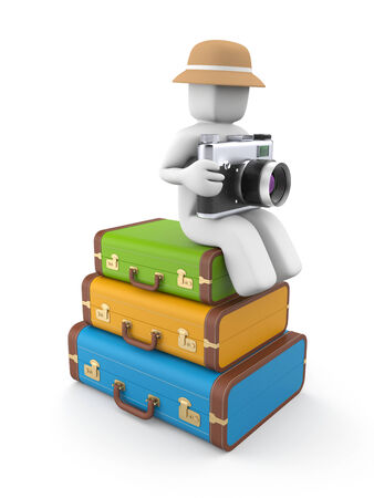 people traveling: People traveling Stock Photo