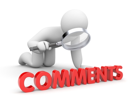 comments: People reads comments