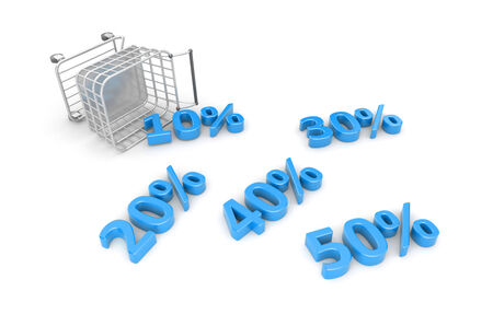 Sale metaphor Stock Photo - 30362481