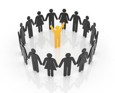 main group: Leadership