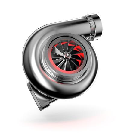 Turbocharger Stockfoto