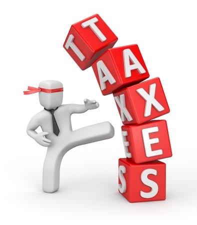 Steuern Standard-Bild - 35522175