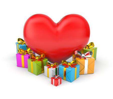 3d Illustration for Valentines day illustration