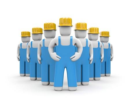 darby: Teamwork concept 3d illustration image Stock Photo