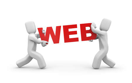 web: WEB Stock Photo