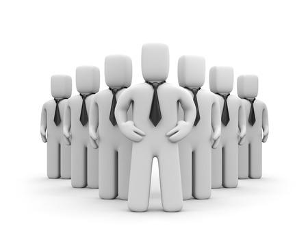 main group: Business team