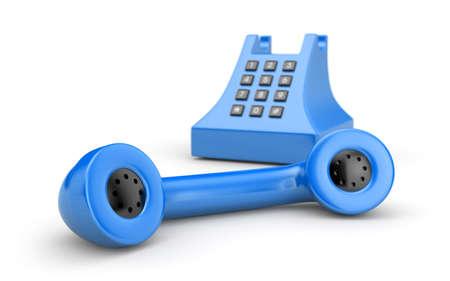 antiquated: Retro telephone. More phones in my gallery