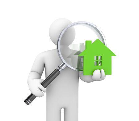 The real estate market photo