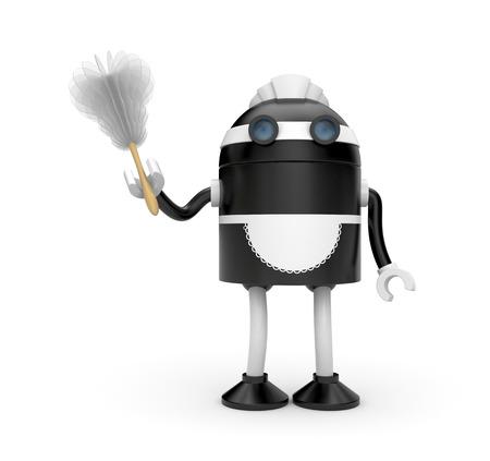 empleada domestica: Robot trabajador