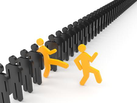 bad leadership: Leadership concept
