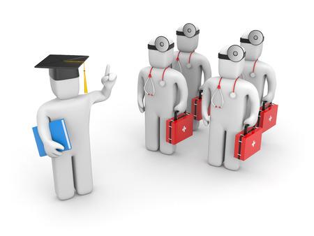 baccalaureate: Education concept