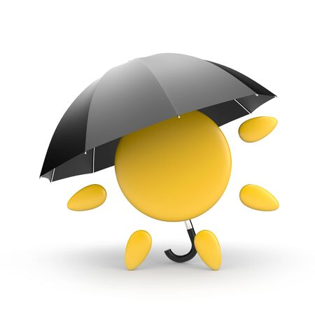 soak: Sun and umbrella