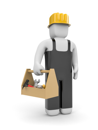 manual worker: Manual worker Stock Photo