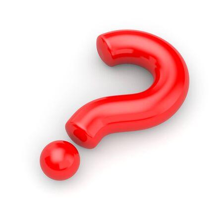 questionail: Pregunta grande roja