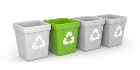 segregate: Trash bags
