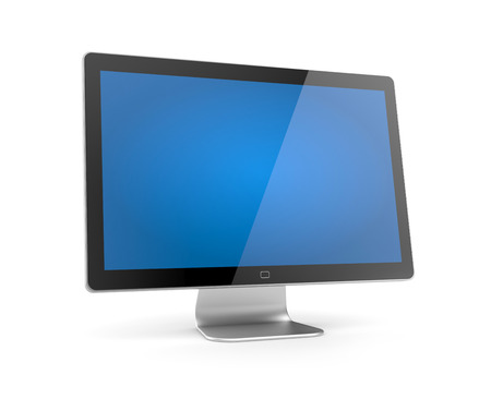 screen tv: Monitor Stock Photo