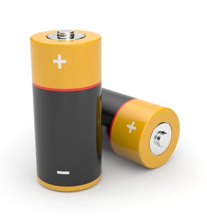 3D Batteries 版權商用圖片