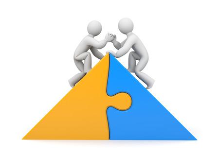 jigsaw puzzle piece: Partnership