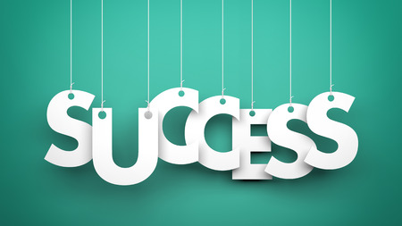 depends: Success - word hanging on the ropes