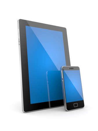new technologies: New technologies metaphor. Isolated on white Stock Photo