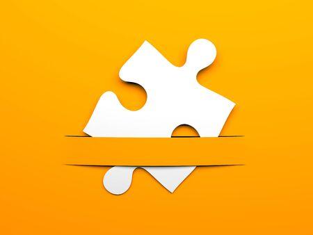 business metaphor: Conceptual 3d image. Business metaphor