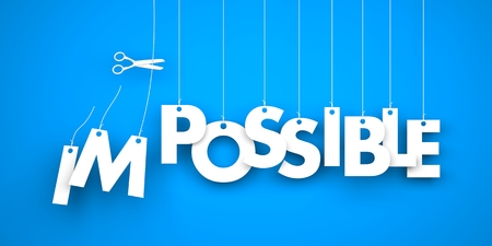 possibility: Possible word hanging on the string