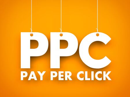 Pay per click. Business background
