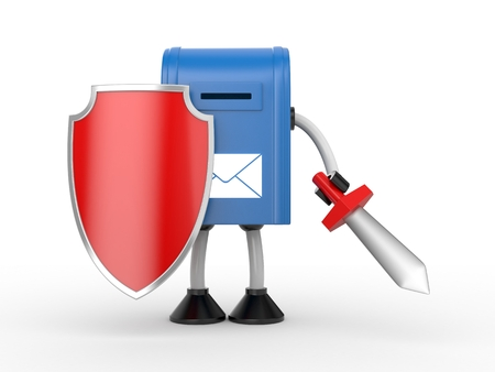defence: Your mailbox under protection and ready to battle