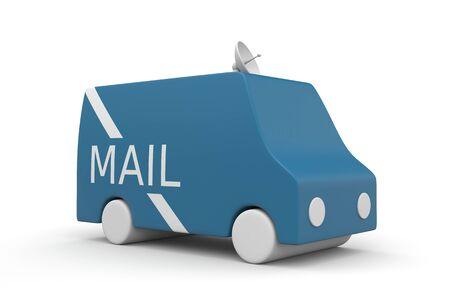 usps: Postal Service truck
