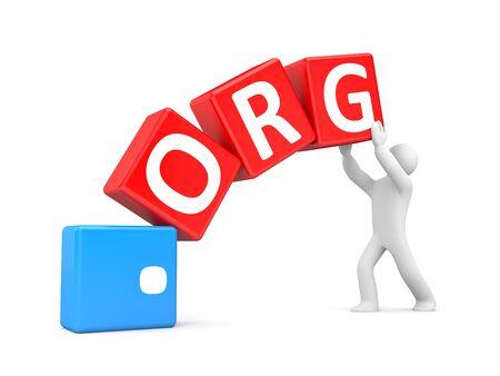 at communication: Communication concept Stock Photo