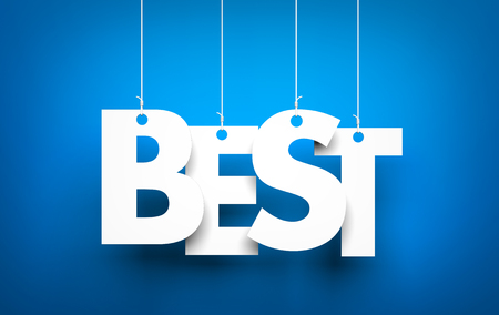 best: Best word - word hanging on the ropes