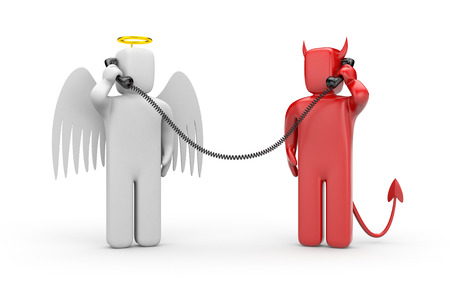 good and evil: Negotiations between good and evil