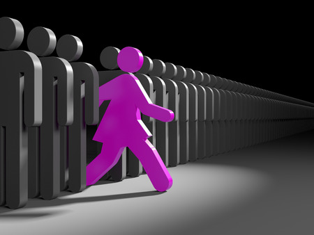 Woman run to new opportunities