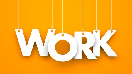 work word hanging on the ropes stock photo picture and royalty