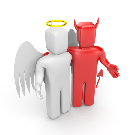 good and evil: The friendship between good and evil