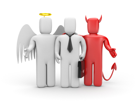 good and evil: What to do? The choice between good and evil